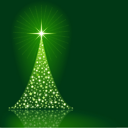 vector-green-christmas-tree