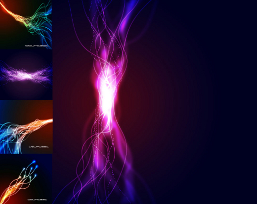 Designs For Backgrounds. +9 Vector Abstract Backgrounds