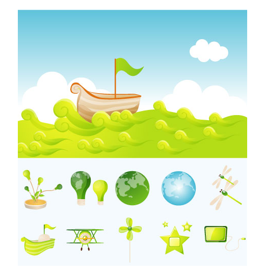 ecology-vector-illustrations