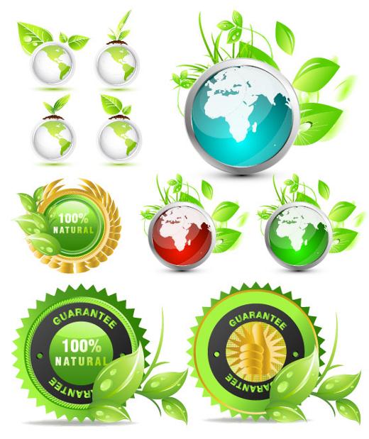 environment-vector-globes