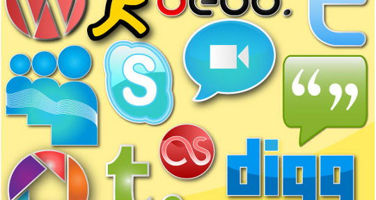 social-networking-vector-pack