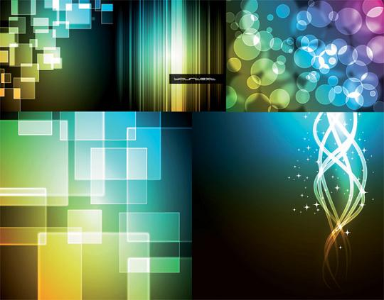 Bokeh Background Vector Bokeh Abstract Vector