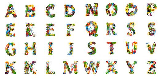 party-color-font