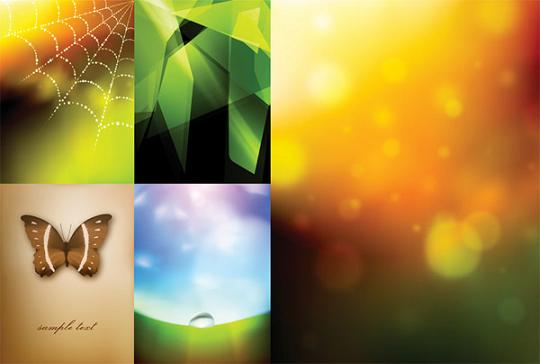Few awesome web design vector backgrounds in eps format.