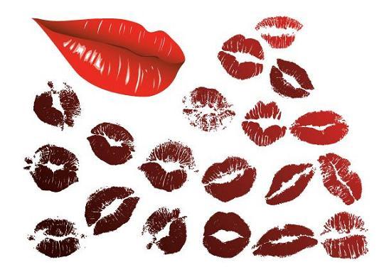 vector-lips
