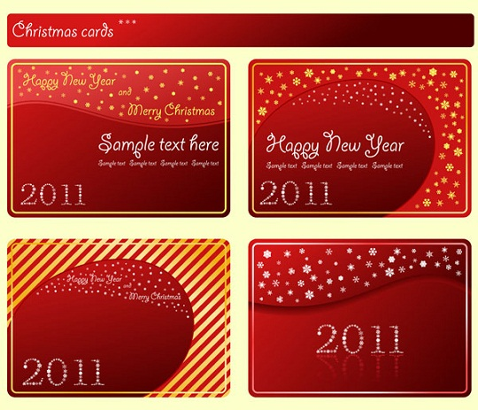 vector-christmas-cards