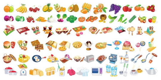 vector-food-icons