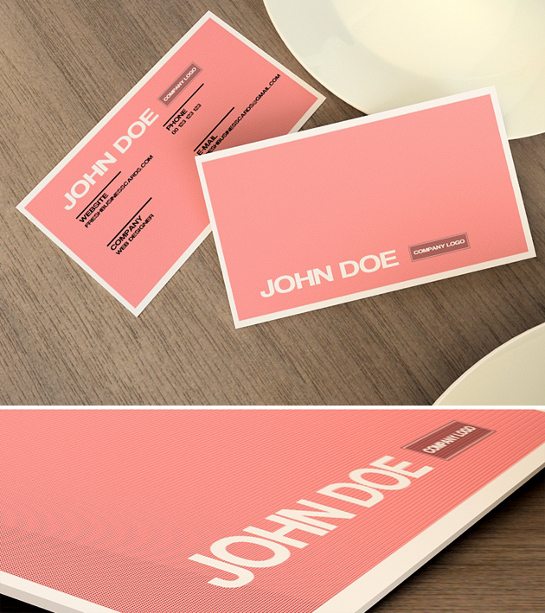 pink-business-card