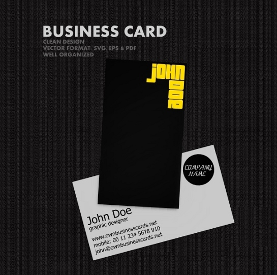 vector-business-card