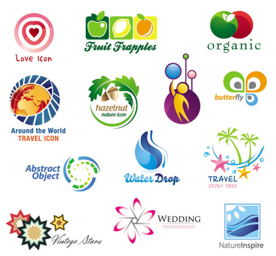 Logo design vector images Business logo design company