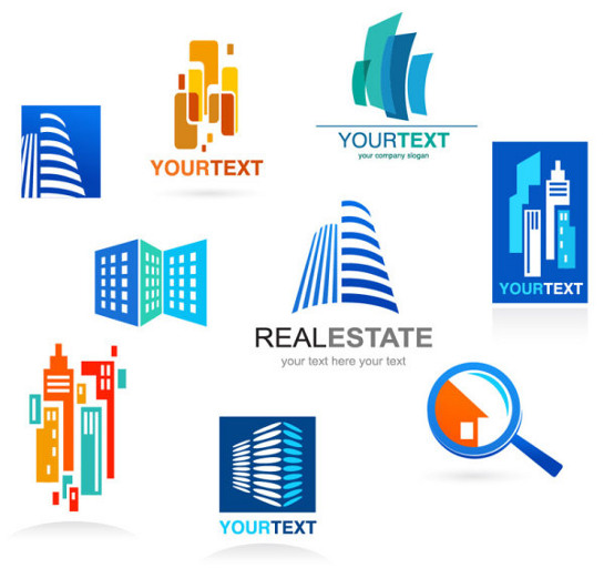 9 vector real estate logo templates