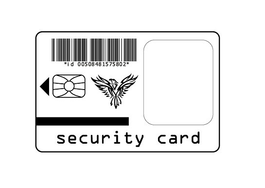 security-card-template