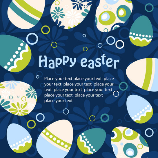 easter-vector-background-with-eggs