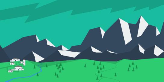 landscape-vector