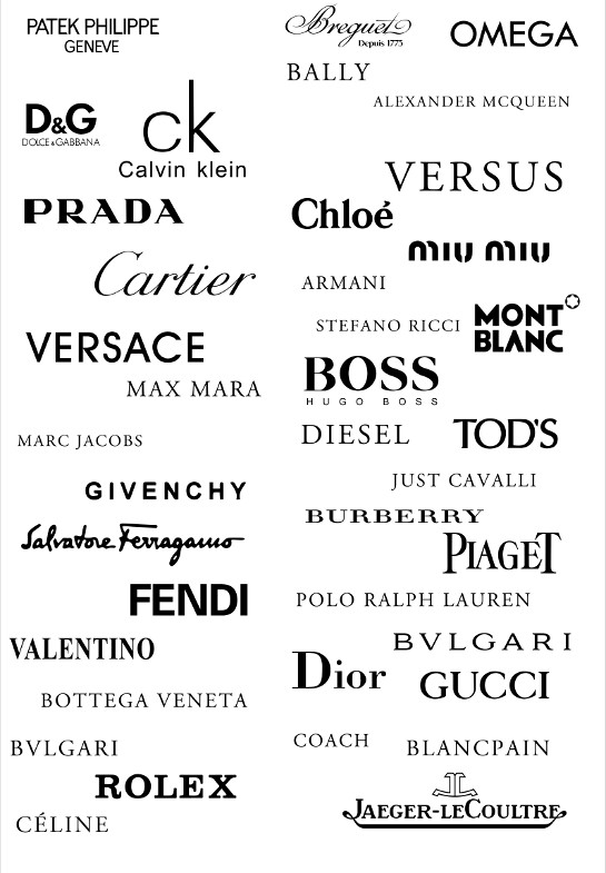 fashion logos vectorillacom vector images