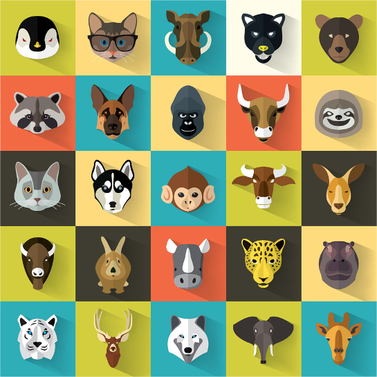 animal-vector-icons