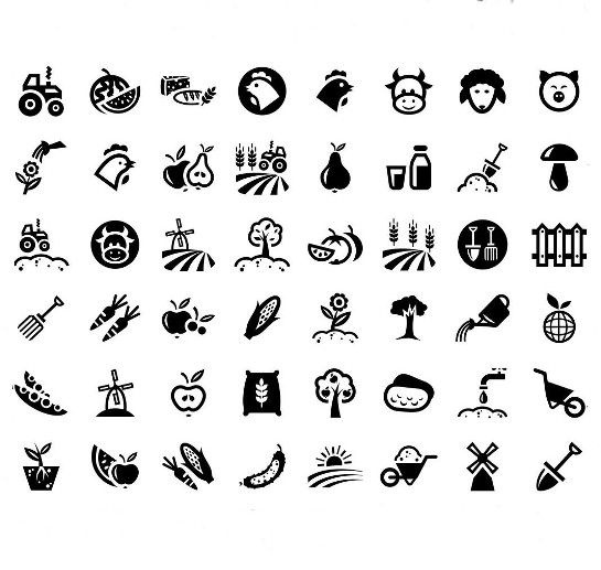 village-vector-icons